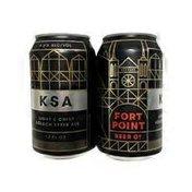 Fort Point Beer Company KSA Kolsch Style Beer
