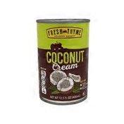 Fresh Thyme Coconut Cream