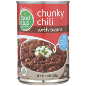 Food Club Chunky Chili With Beans