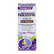 NAUZENE Liquid For Nausea Grape