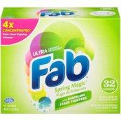 Fab Ultra Spring Magic Laundry Detergent Powder