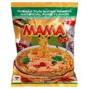 Mama Noodles, Instant, Oriental Style, Artificial Pork Flavor