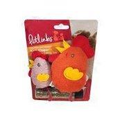 Petlinks Knit Nipper Catnip Toys Chicken & Chick