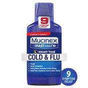 Mucinex® Fast-Max Adult Nighttime Cold and Flu Liquid