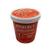 Udderly Ridiculous Spiced Pumpkin Goat Ice Cream