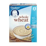 Gerber Whole Wheat Cereal for Baby and Toddler