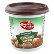 Baker's Choice Oven Proof Caramel Cream