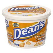 Dean's Cottage Cheese, Small Curd with Pineapple Added