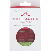 Solemates High Heeler, Wide, Clear