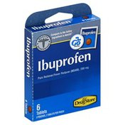 Lil Drug Store Ibuprofen, 200 mg, Tablets, On the Go Packs