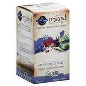 Garden of Life Multivitamin, Whole Food, Men's Once Daily, Vegan Tablets
