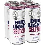 Bud Light Hard Seltzer Black Cherry, Cans
