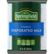 Springfield Milk, Evaporated
