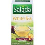 Salada Asian Plum White Tea Tea Bags