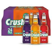 Crush Soda Made with Sugar Variety Pack
