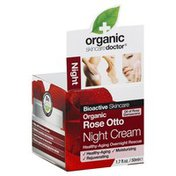 Organic Doctor Night Cream, Organic Rose Otto