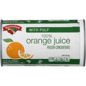 Hannaford Frozen Orange Juice with Pulp