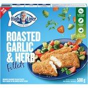High Liner Roasted Garlic & Herb Fillets