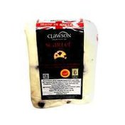 Long Clawson White Stilton Cheese With Cranberries