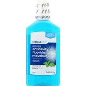 Equaline Anticavity Fluoride Mouthwash, Refreshing Mint, Restoring