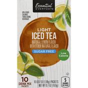 Essential Everyday Iced Tea, Light, Sugar Free, Lemon Flavor
