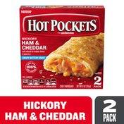 Hot Pockets Hickory Ham & Cheddar Crispy Buttery Crust Frozen Snacks