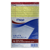 Mead Legal Pads 4
