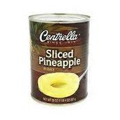 Centrella Sliced Pineapple In Juice