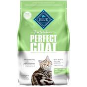Blue Buffalo True Solutions Perfect Coat Natural Skin & Coat Care Adult Dry Cat Food, Salmon