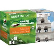 Green Mountain Coffee Colombian Fair Trade Select Decaf K-Cup Packs Coffee
