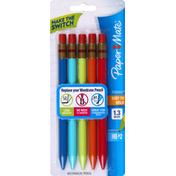 Paper Mate Mechanical Pencils, 1.3 mm, HB# 2, Assorted