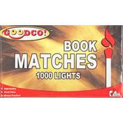 GoodCo Matches, Book
