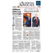 Acadiana Advocate Thursday Newspaper