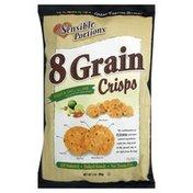 Sensible Portions Baked Snack, 8 Grain Crisps, Fiesta Chili & Lime