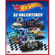 Paper Magic Group Valentines Cards, Hot Wheels
