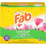 Fab Exquisites Love Duet Lotus Lilac Laundry Powder Detergent