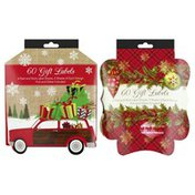Paper Craft Gift Labels