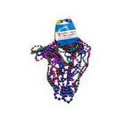 Dollar Tree Stores, Inc. Assorted Colorful Metallic Mardi Gras Beaded Party Necklaces