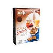 Meijer Multigrain Squares Low Fat Cereal