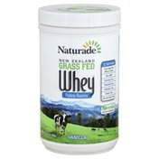 Naturade Protein Booster, Whey, Vanilla, New Zealand Grass Fed