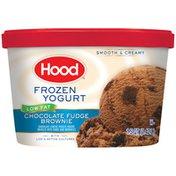 Hood Chocolate Fudge Brownie Low Fat Frozen Yogurt