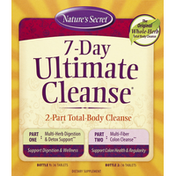 Nature's Secret Ultimate Cleanse, 7-Day, 2-Part, Tablets