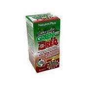 Nature's Plus Source of Life Green And Red Bilayered Tablets