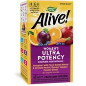 Nature's Way Alive!® Once Daily Women's Ultra Potency Multivitamin