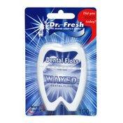 Dr Fresh Dental Floss, Waxed
