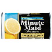 Minute Maid Juice, Grapefruit, Frozen Concentrated, with Added Calcium