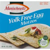 Manischewitz Yolk Free Egg Matzos