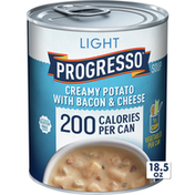 Progresso Light, Creamy Potato With Bacon and Cheese Soup, Gluten Free