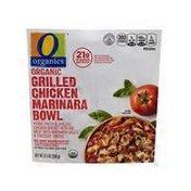 O Organics Organic Grilled Chicken Marinara Bowl