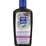 Kiss My Face Shower Gel, Peaceful Patchouli